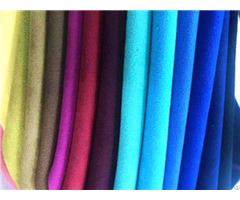 Soft Multi Color Suede Leather Nonwoven Lining For Shoe Boots Bag