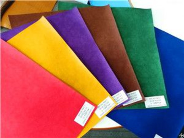 Bh4785 Plain Print Embossing Pu Synthetic Leather 0 6mm 54