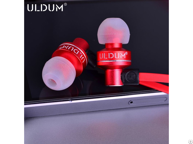 Premium Sound Lantern Shape Flat Metal Earphoneas Christmas Gift