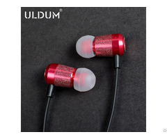 Uldum High Quality Chinese Style In Ear Earphones With Mic For Iphone 3 5mm Plug Jack New Product