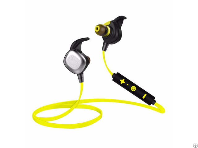 Sports Wireless Bluetooth Headset Earphone With Mictpe Material