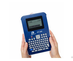 18mm Size Puty Pt 300 Mini Battery Powered Portable Handheld Label Maker Printer