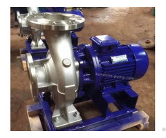 Iswdh Stainless Steel Chemical Industry Centrifugal Pump