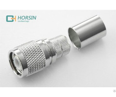 Horsin Oem Odm 75ohm 50ohm For Rg402 Rg316 Cable Tnc Male Rf Coaxial Conenctor