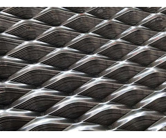 Decorative Aluminium Expanded Metal Mesh