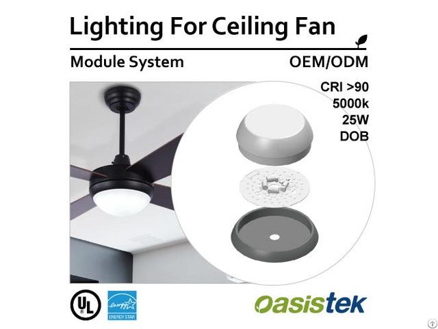 Lighting For Ceiling Fan Module System Oem Odm