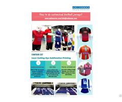 Unikonex Laser Cutting Dye Sublimated Sports Jerseys
