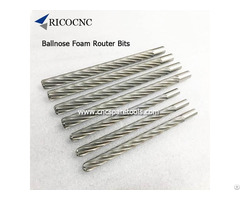 Long Ballnose Router Bits For Eps Poly Foam Cutting