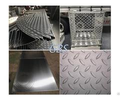 Aluminium 5 Bar Anti Floor Checked Plate