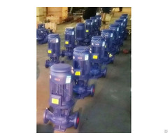 Isgb Vertical Pipeline Centrifugal Pump Easy Disassembly Installation