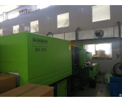 Sunbun 230t Central Locking Strucuture Injection Molding Machine