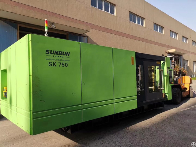 Sk750 Sunbun Taiwan Servo Motor Plastic Injection Molding Machine