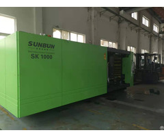 Sunbun 1000t Plastic Crate Power Saving Injection Moulding Machine