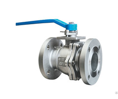 Ansi Class150 Cf8 Stainless Steel Flange Ball Valve
