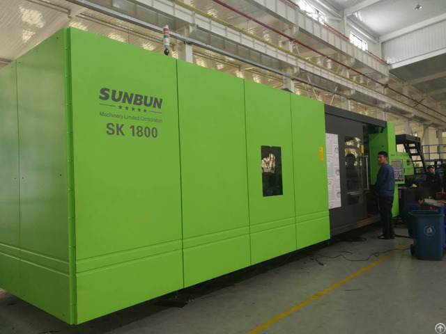 Sk1800 Sunbun Dustbin Central Locking Structure Injection Molding Machine